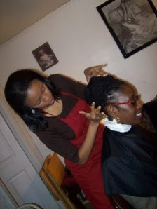 Master Stylist at work