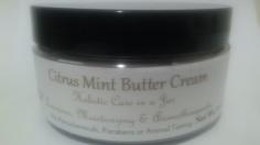 8oz Jar of Citrus Mint Butter Cream