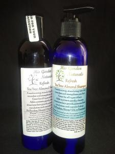 Refresh Tea Tree Almond Body-Hair Shampoo
