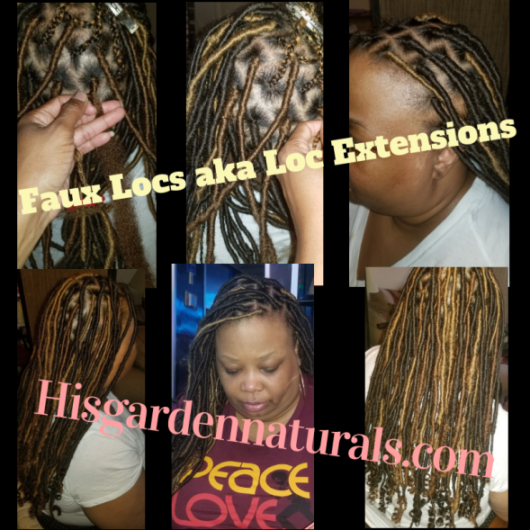 Kellee 2nd faux locs