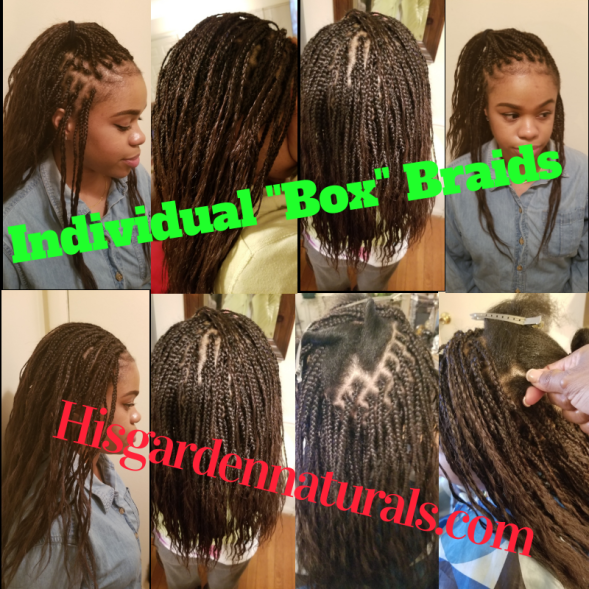 Love Box braids 2019