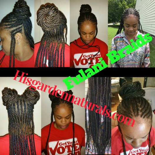 Love Fulani Braid style